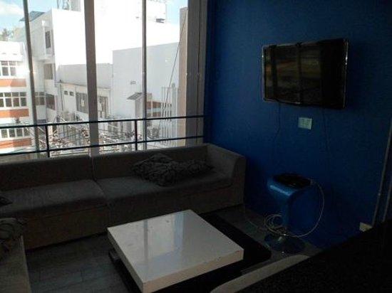 ETZzz Hostel: the lounge