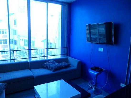 ETZzz Hostel : the lounge