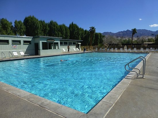 The Oasis at Death Valley: View of pool