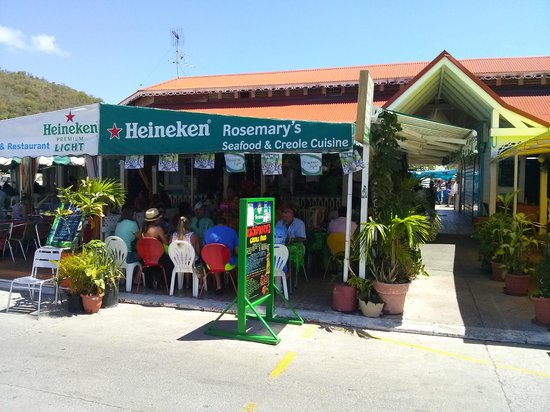 Twin Island Excursions: Creole lunch at Rosemary's in Marigot