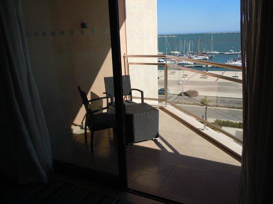 Real Marina Hotel & Spa: Looking out towards balcony