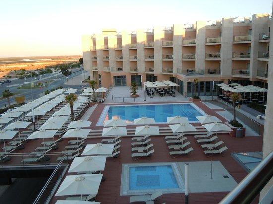 Real Marina Hotel & Spa: Balcony view