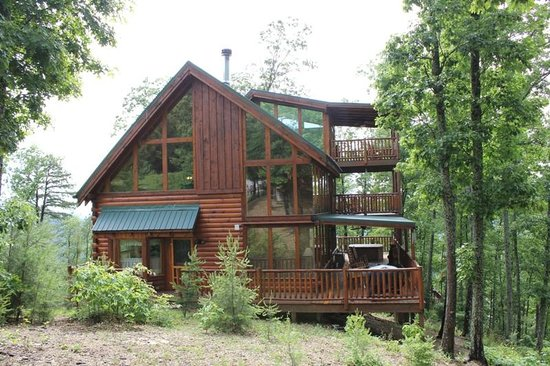 Picture Of Brother's Cove Log Cabin