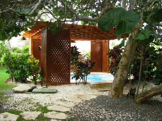 Punta Cana Princess All Suites Resort & Spa: Centre Spa - baignoire à remous
