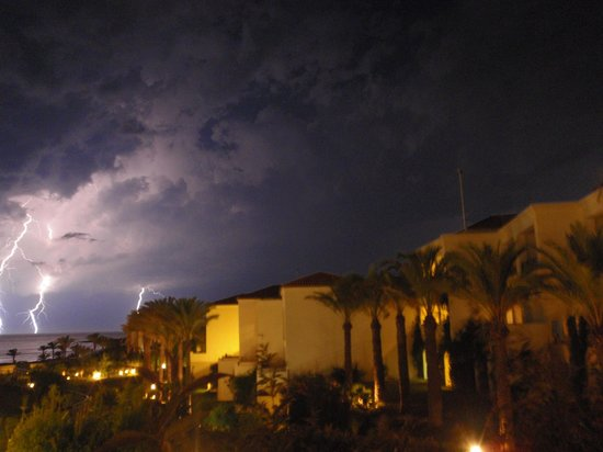 Grecotel Olympia Riviera Thalasso: Thunderstorm