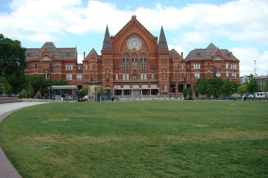 Washington Park: View of Music Hall from the park