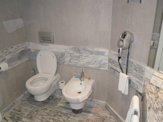 Real Marina Hotel & Spa: Toilet and Bidet