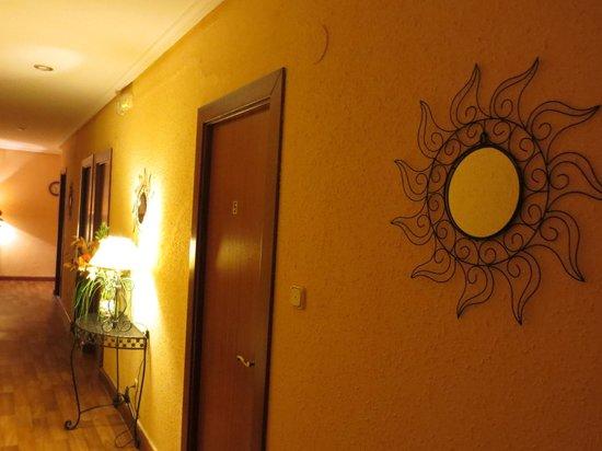 Ibai Accomodations: Hallway