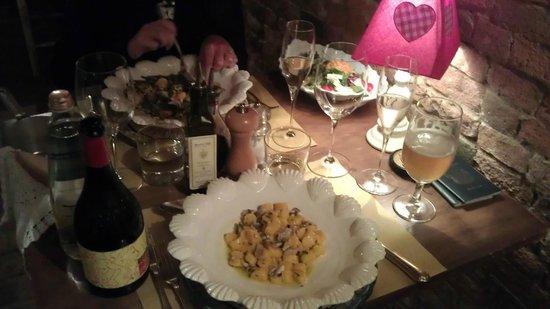 Albergo Quattro Gigli : Our meal