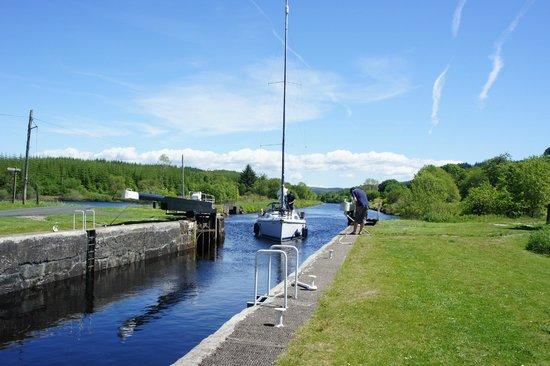 Lock 10 on the Crinan Canal