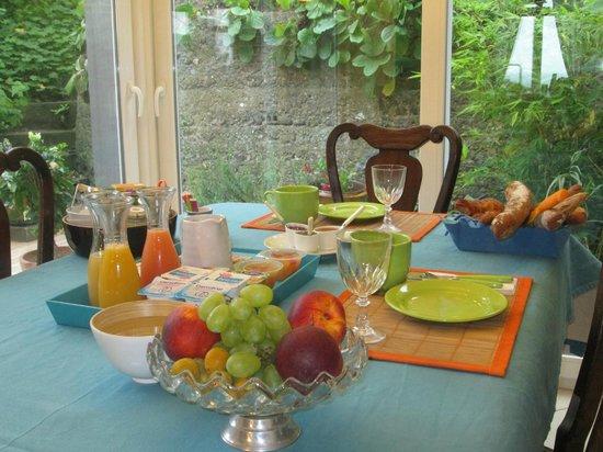 Chambres a Pourville : Petit déjeuner