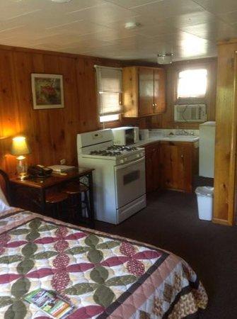 Silver Saddle Motel : inside of cabin 14