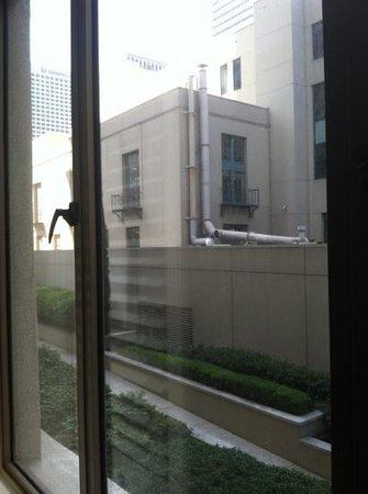Hilton Checkers Los Angeles: #109. Lovely view from upgraded suite room.
