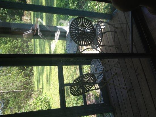 Birders Haven : Drip outside bedroom