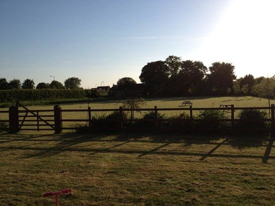 Elms Farm Cottages: The view from Elm