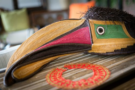 The Resort at Isla Palenque: Local crafts can be found throughout the hotel