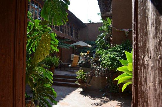 Hotel Casa Encantada: cour 2