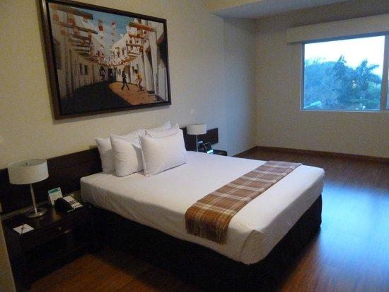 Casa Andina Select Chiclayo: Riquísima la cama, dormí muy bien.