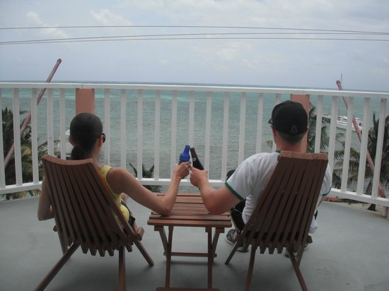Caye Caulker Condos: Great rooftop!