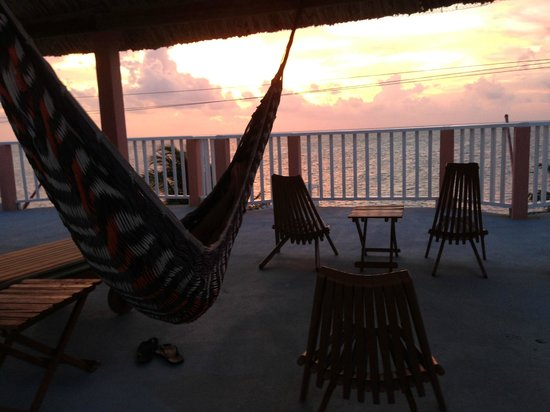 Caye Caulker Condos: Beautiful sunrise