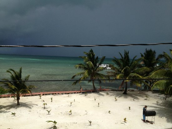 Caye Caulker Condos: View from room