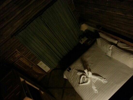 Boquete Tree Trek Mountain Resort : Habitación de cabaña.