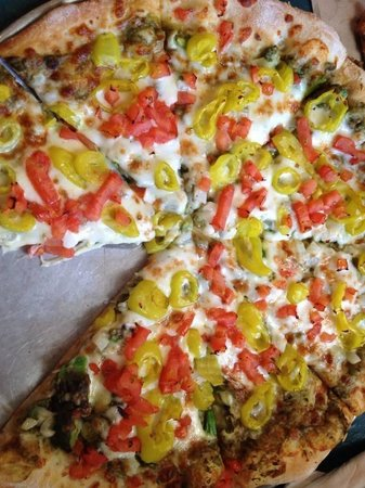 Lighthouse Pizza: The limited Tybee!
