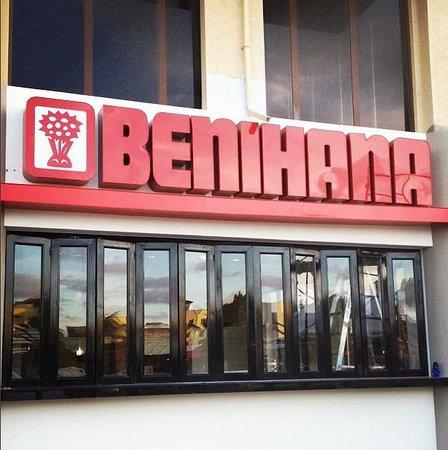 Benihana Sign