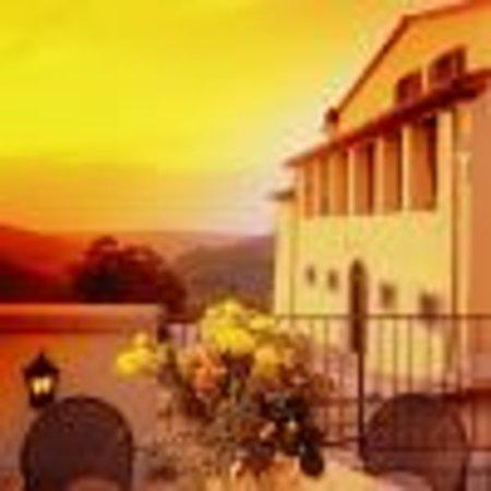 Villa Morelli: il tramonto dala terrazza