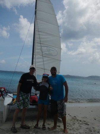 Sail Safaris: On remote beach with Ike
