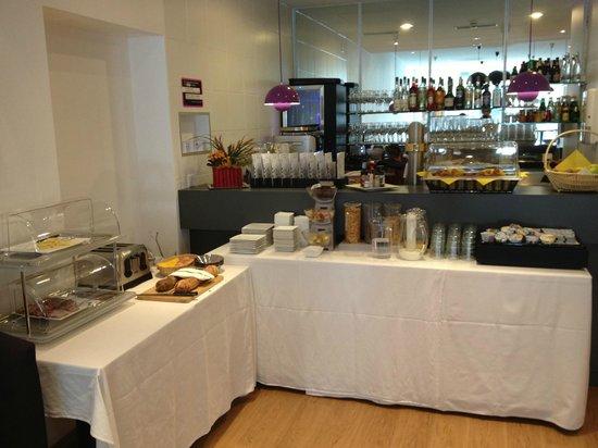 Hotel du Nord : Buffet della colazione