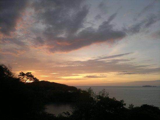 Paradise Flamingo Beach: Abendstimmung von der Terrasse