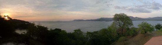Paradise Flamingo Beach: Panorama Terrasse