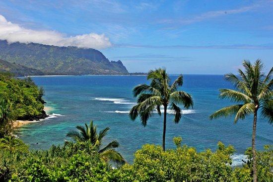 Marc at Princeville Pali Ke Kua: A beautiful day on Kauai!