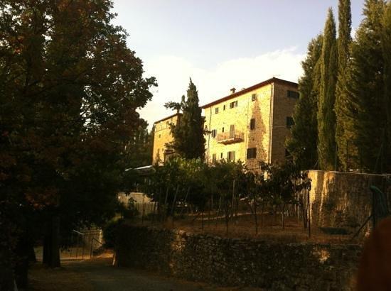 Villa Schiatti: vista esterna dal parcheggio