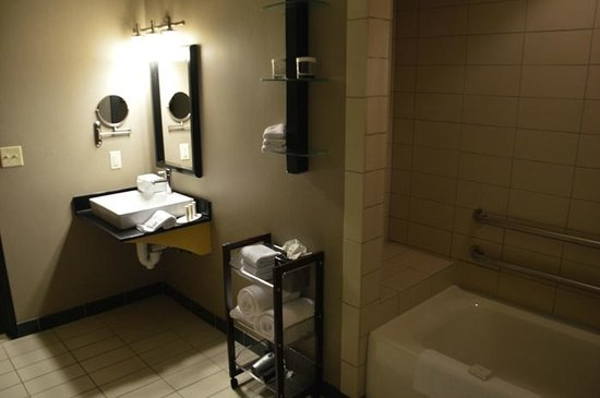 SpringHill Suites Green Bay: The bath of an interior designer?