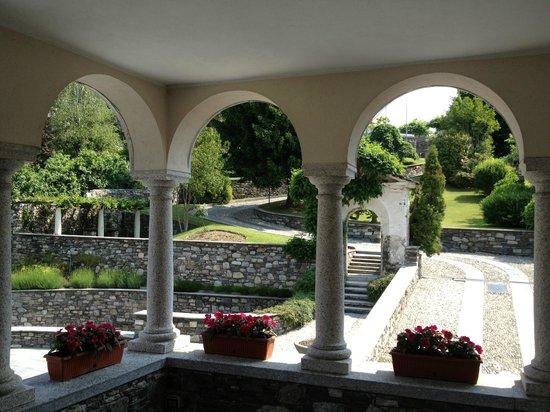 San Rocco Hotel: Vista dall'entarta