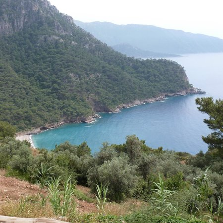 Olive Garden Kabak: View while we ate