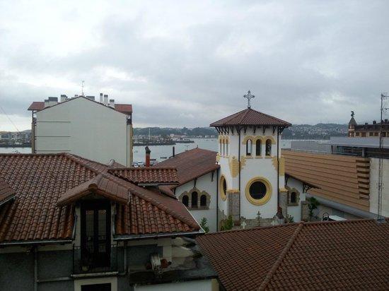 Hotel Jáuregui: Vista desde la 4a planta