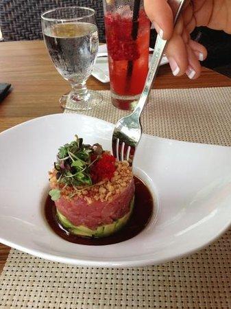Voodka: tuna tar tar is yummy