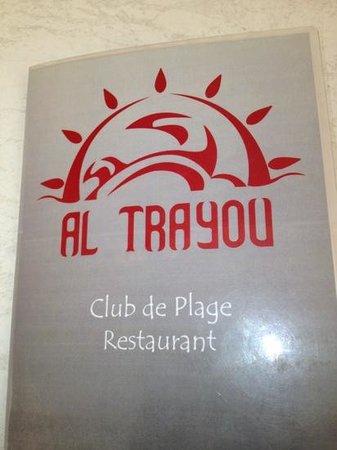 El Trayou : Ajouter une légende