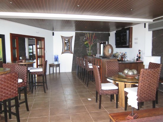 Iguana Crossing: Bar area