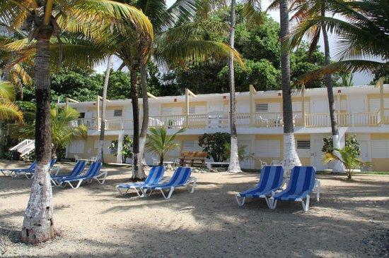 Caribe Playa Beach Hotel Lounging Chairs On The