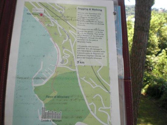 Hotel Riviera & Maximilian's: mappa