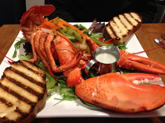 The Lobster Pound And Moore : Market Lobster dinner
