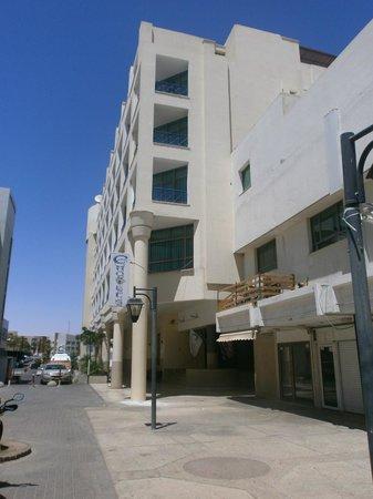 C Hotel Eilat Hotel: C hotel aan de voorkant