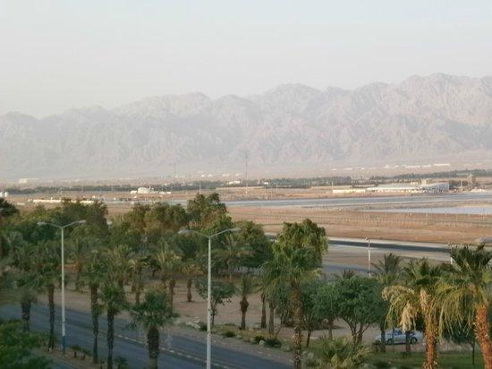 C Hotel Eilat Hotel: moabitisch gebergte in Jordanie