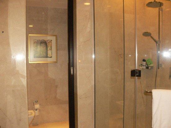 Al Raha Beach Hotel: la salle de bain douche plus baignoire !!