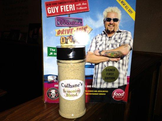 "Culhane's Irish Pub & Restaurant: Culhane's Irish Pub made it to Guy Fieri's ""funky finds in Flavortown"" book !!!"