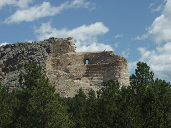 A sacred memorial to one of the great native American chiefs in the